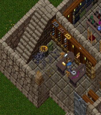 Ultima Online House Decor