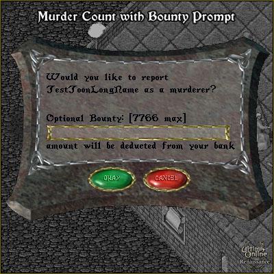 Bounty, Murder Count, Murderer