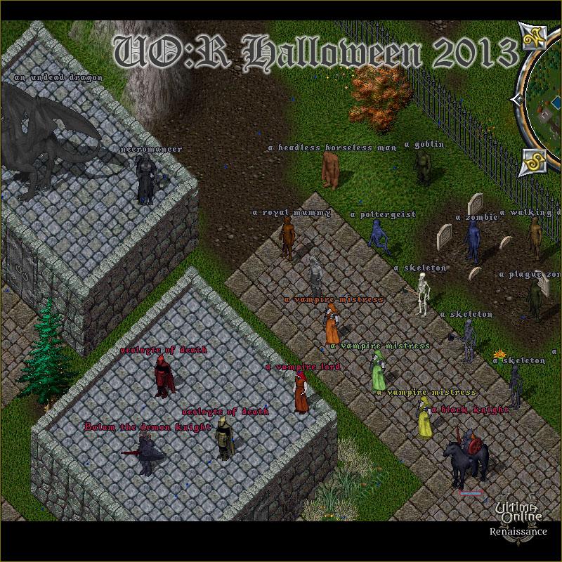 Ultima Online 2020 Halloween Trick Or Treat Event   Halloween Event 2013   UO Renaissance   an Ultima Online
