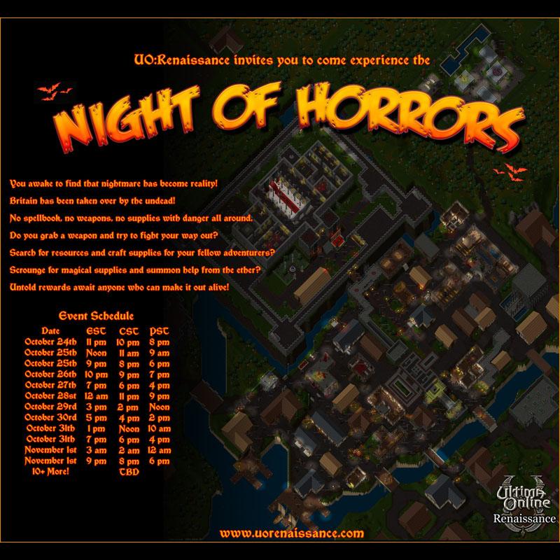 Ultima Online 2020 Halloween Trick Or Treat Event   Halloween Event 2014   UO Renaissance   an Ultima Online